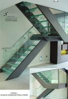 OAKHILL STAIRCASE IN GLASS AND STAINLESS STEEL